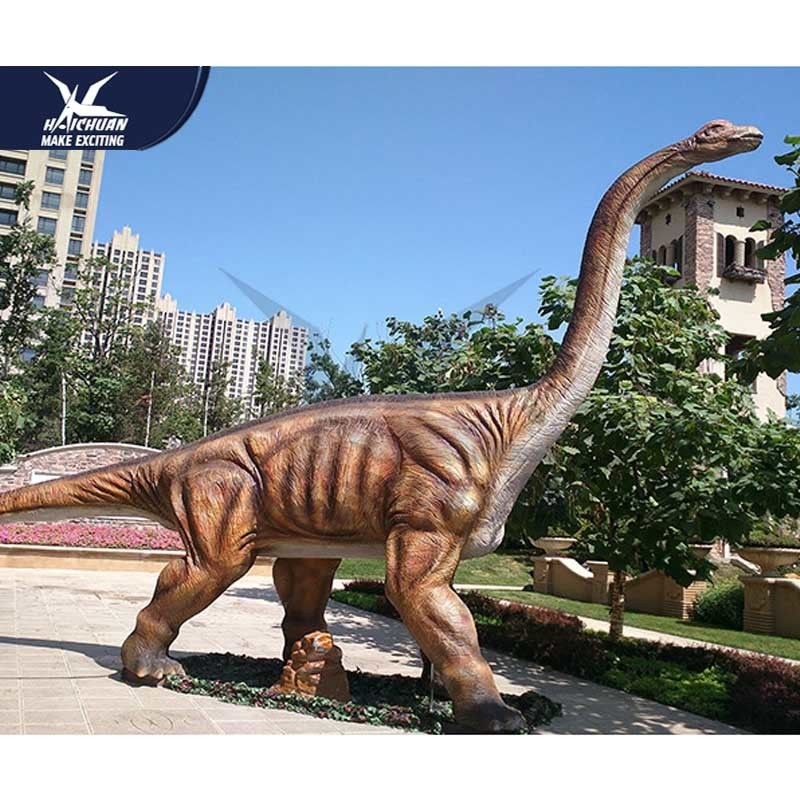 Jurassic Theme Park Realistic Dinosaur Models / Life Size Dinosaur Statues For Child